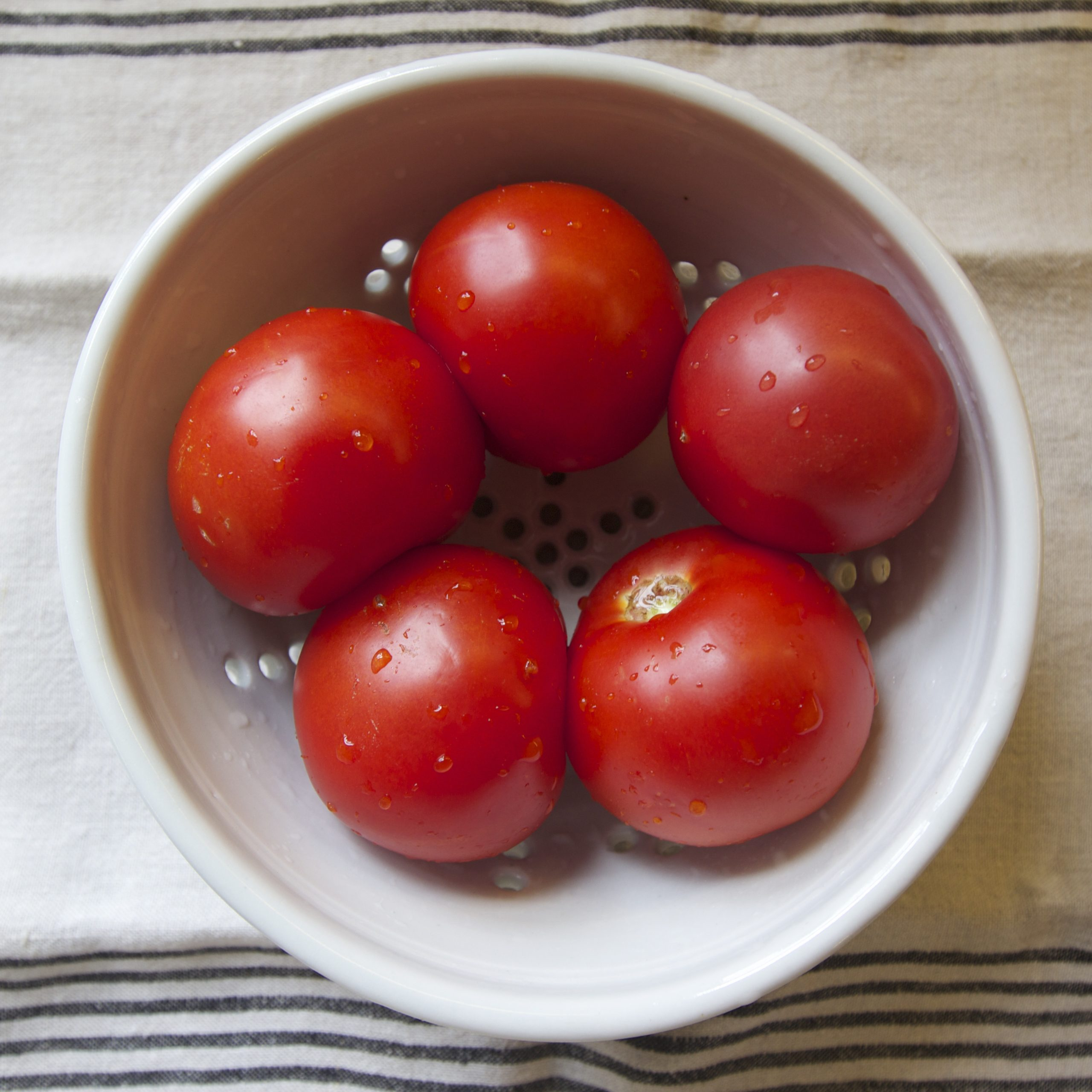 Easy, Kid Friendly Roasted Tomatoes Recipe // Annabode.com