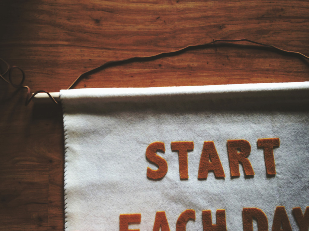 How To Make A Modern Wall Banner