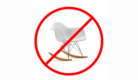 Why You Should Never Put an Eames Rocker in Your Nursery