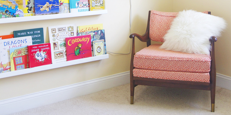 Before & After: Mid-Century Armchair Gets a Facelift