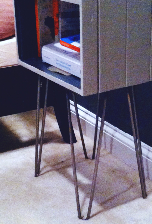 Crate Nightstand Diy Tutorial