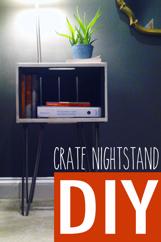 Amanda's DIY Crate Nightstands