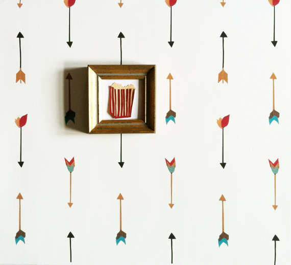 Multi Color Arrow Wallpaper