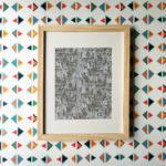 Triangle Print, $36 // Kate Zaremba Co.