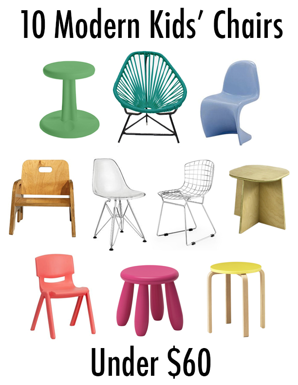 5 Kids Chairs Under $50