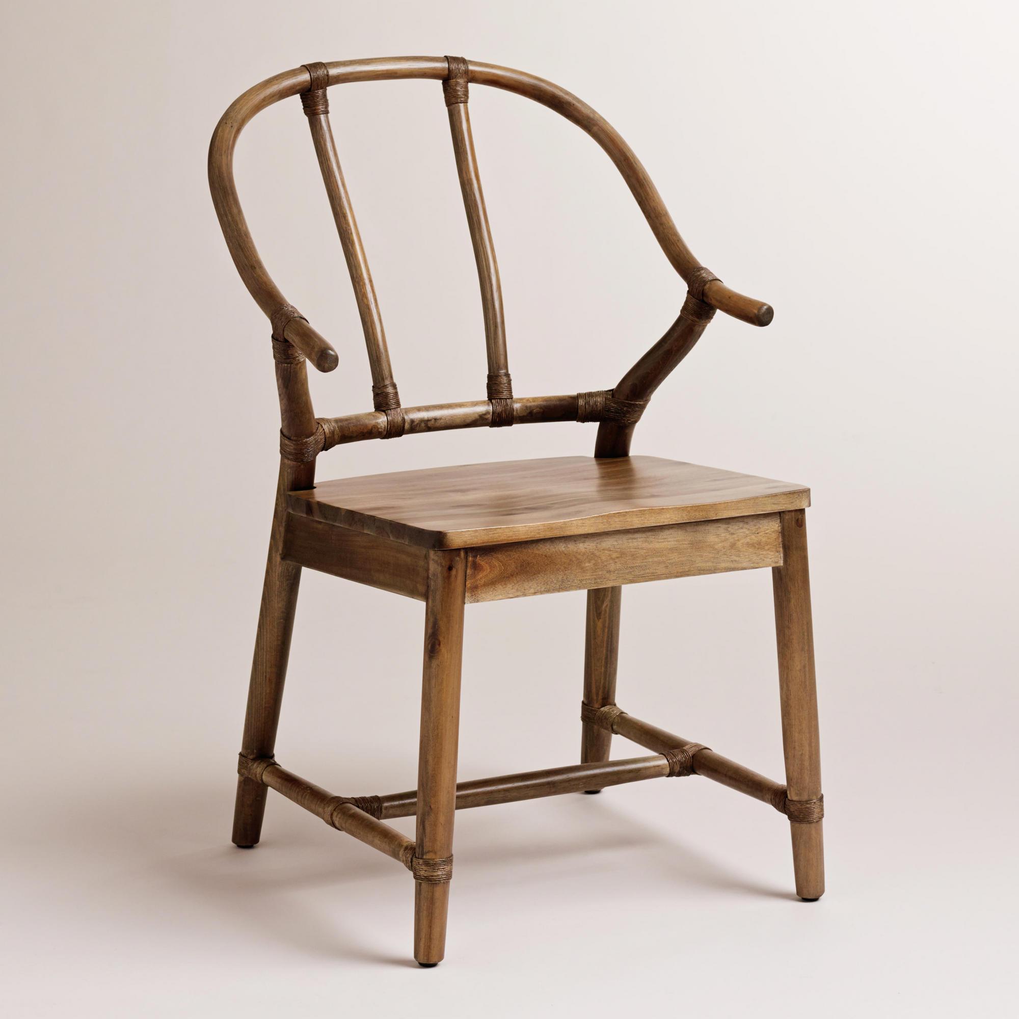 Natural Bowen Wishbone Chair, World Market, $139.99.