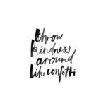 Bianca Cash Throw Kindness