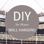 Easy Modern Diy Wall Hanging Tutorial
