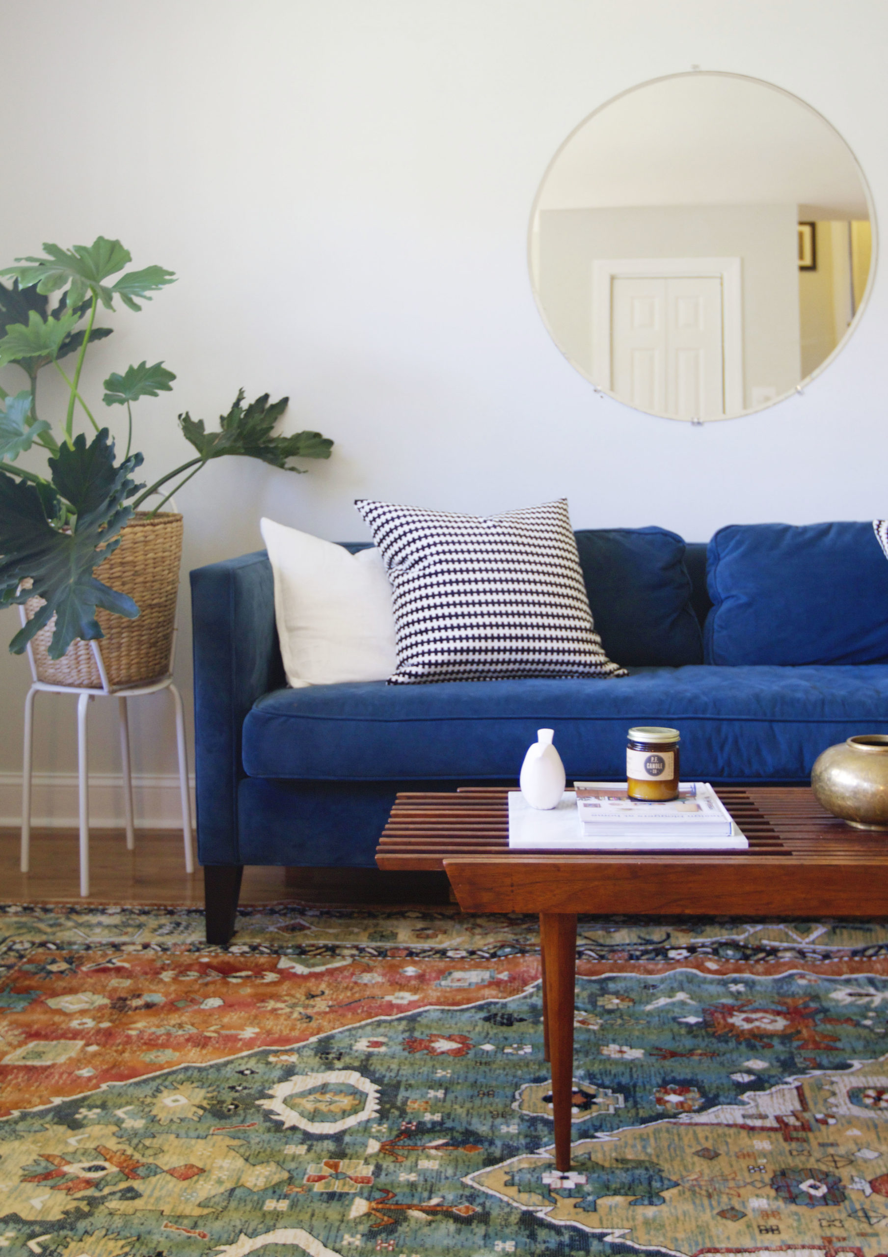 Living Room New Pillows