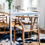 Modern Wishbone Dining Chairs