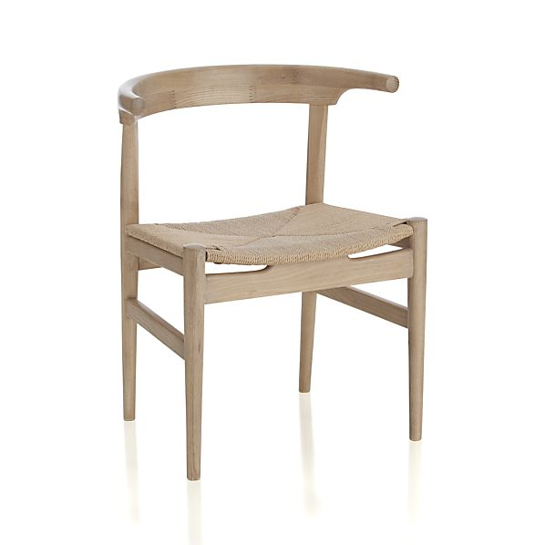 Neils Natural Chair, Crate & Barrel, $211.
