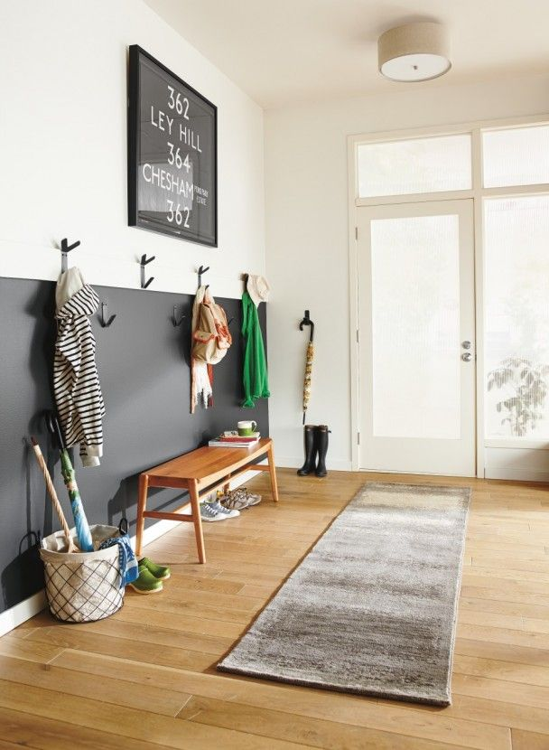 Stylish and Modern Ideas for the Entryway or Mudroom