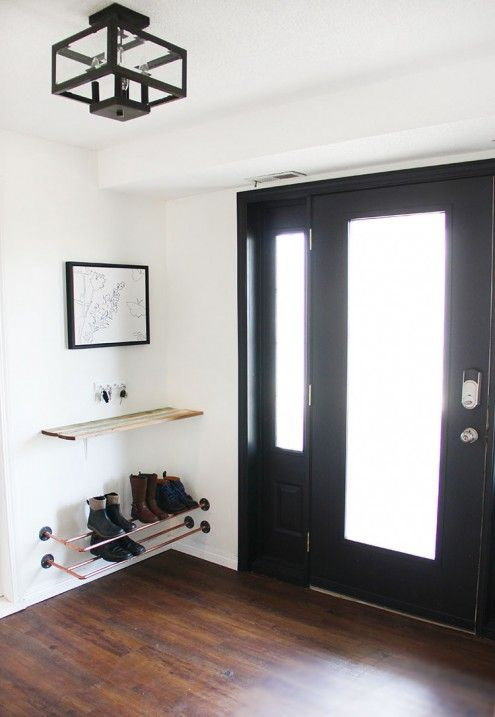 6 Stylish Modern Ideas For Your Entryway Or Mudroom