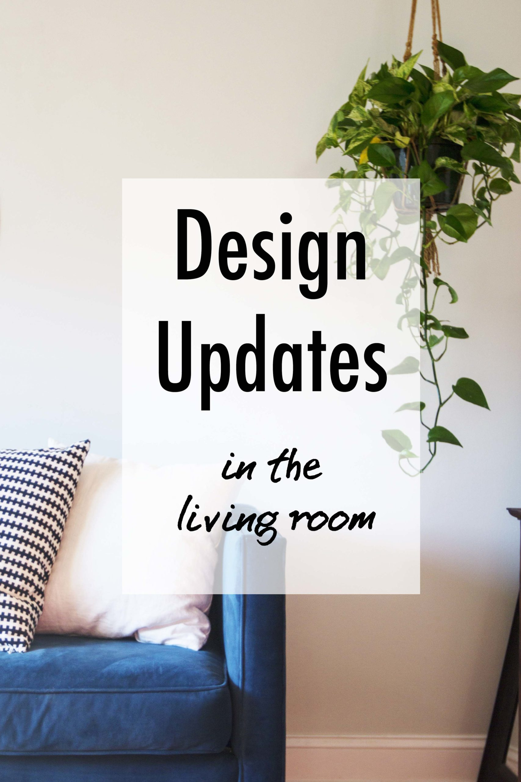 Design Updates in the Living Room