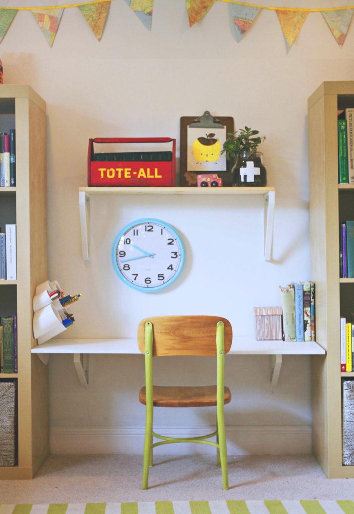 modern playroom desk