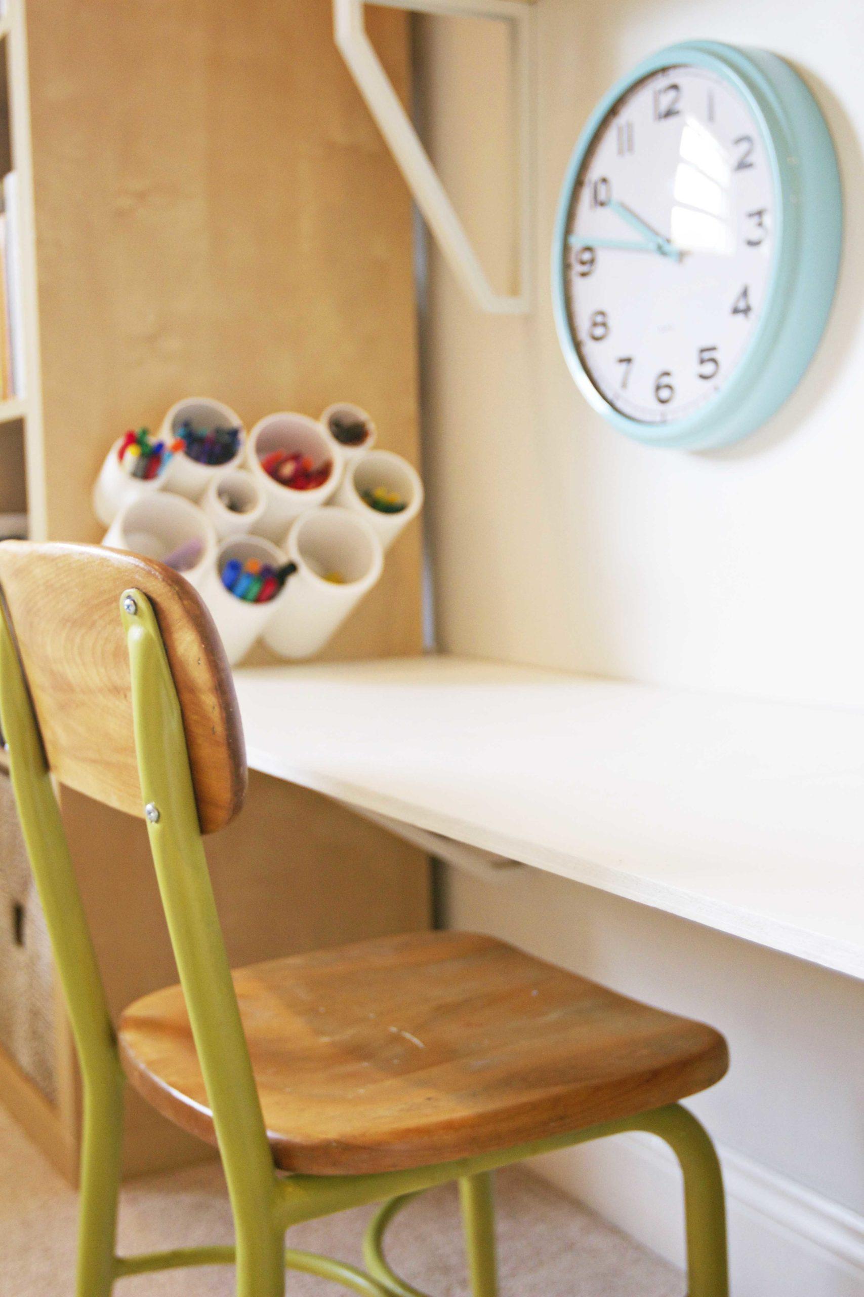 Modern Playroom Desk Diy