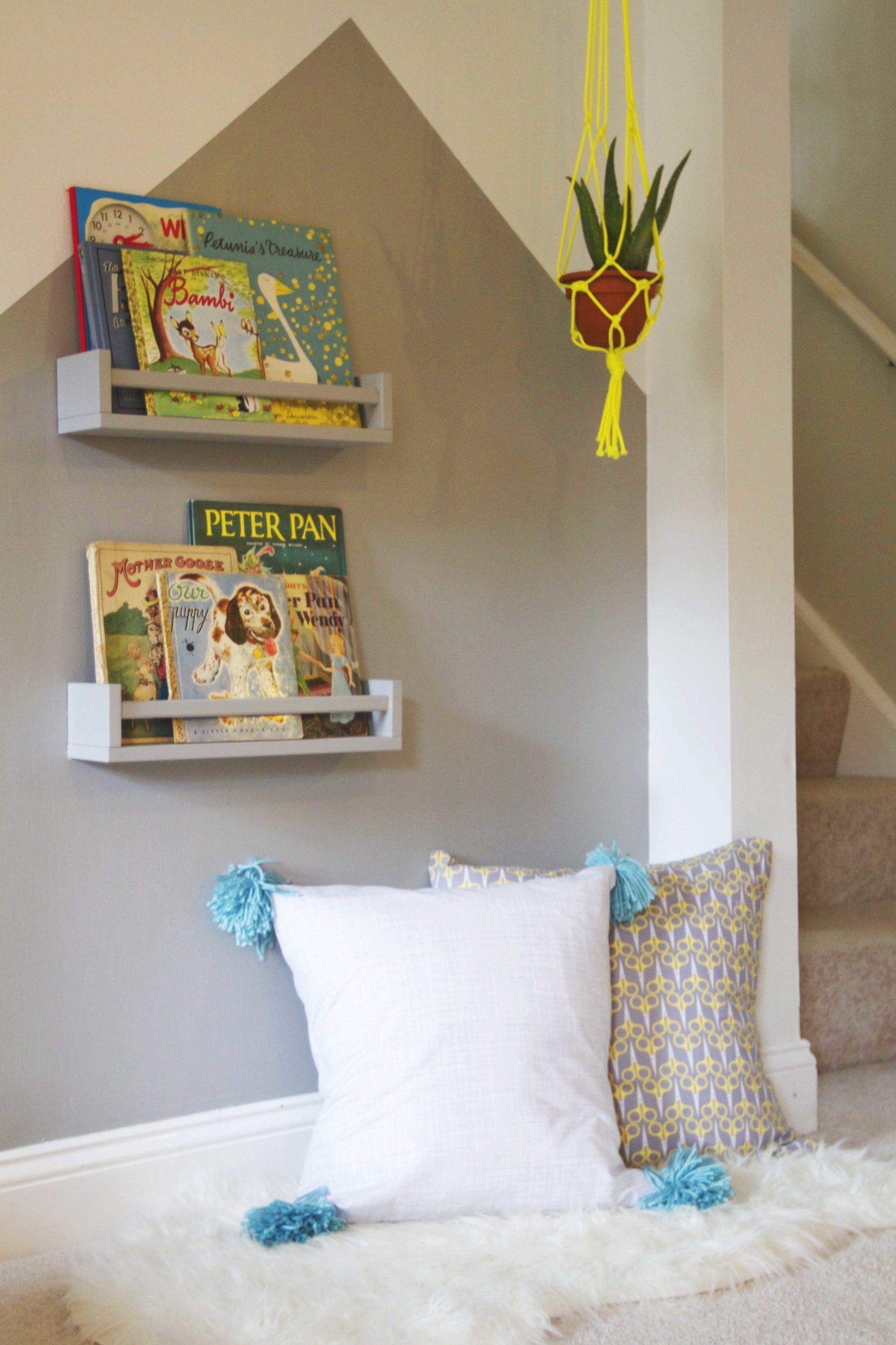 Modern Playroom Reading Nook