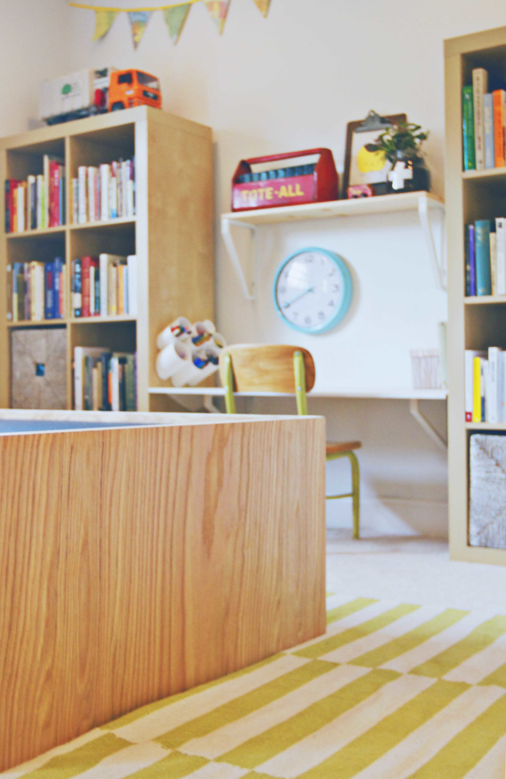 Modern Playroom Toy Storage 6