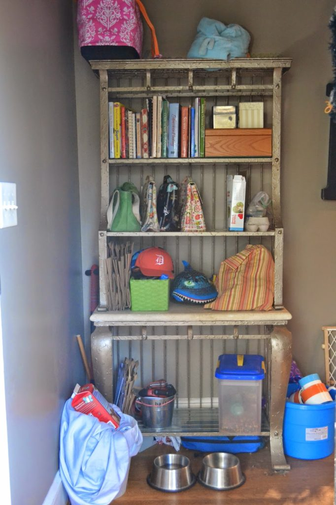 mudroom entryway makeover 1