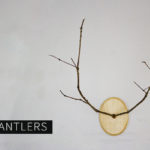 Diy Branch Antlers Tutorial Christmas Decor