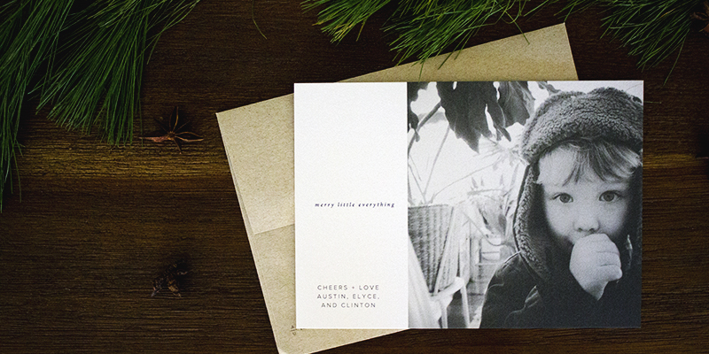 The Best Source for Modern Holiday Photo Cards