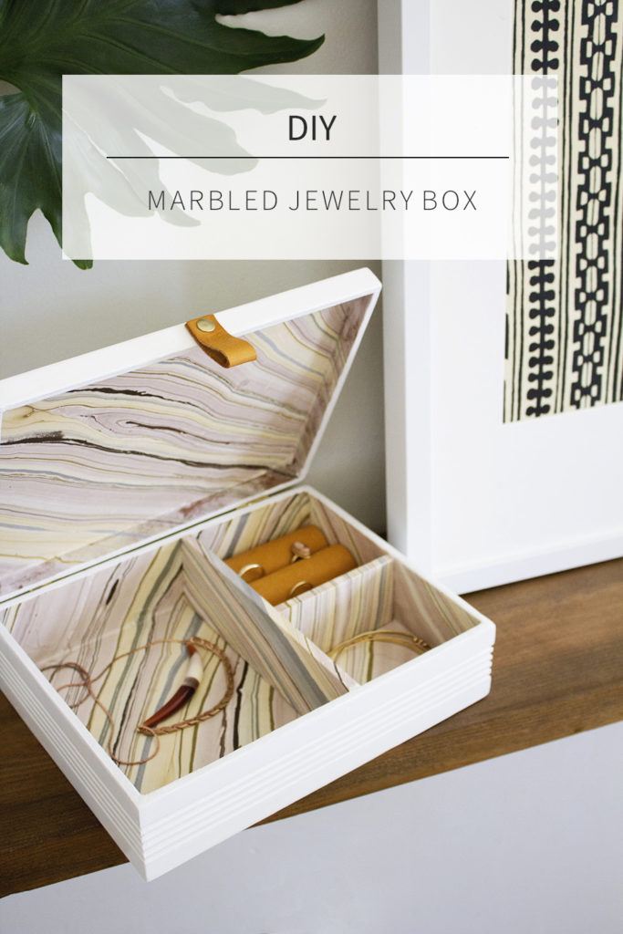 DIY CIgar Box Jewelry Box