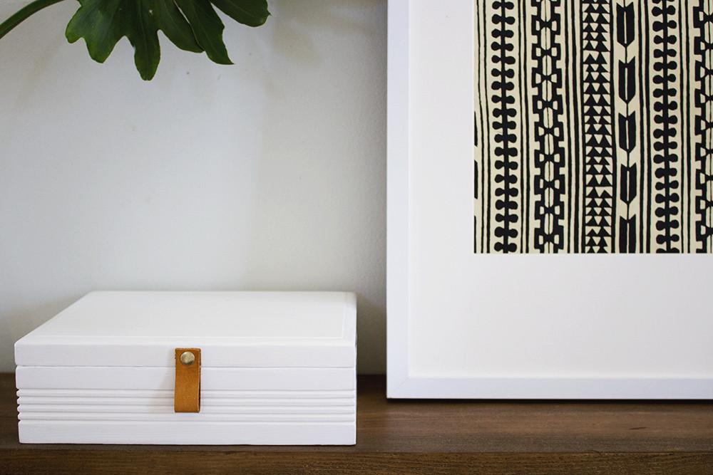 DIY Marbled Jewelry Box Cigar Box