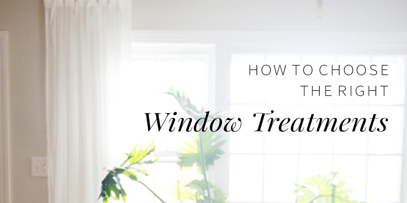 How to Choose Window Treatments Correctly -- Annabode