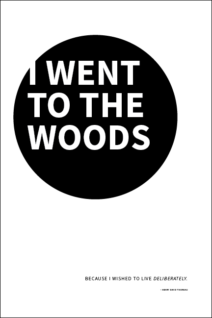 Minimalist Typography Poster