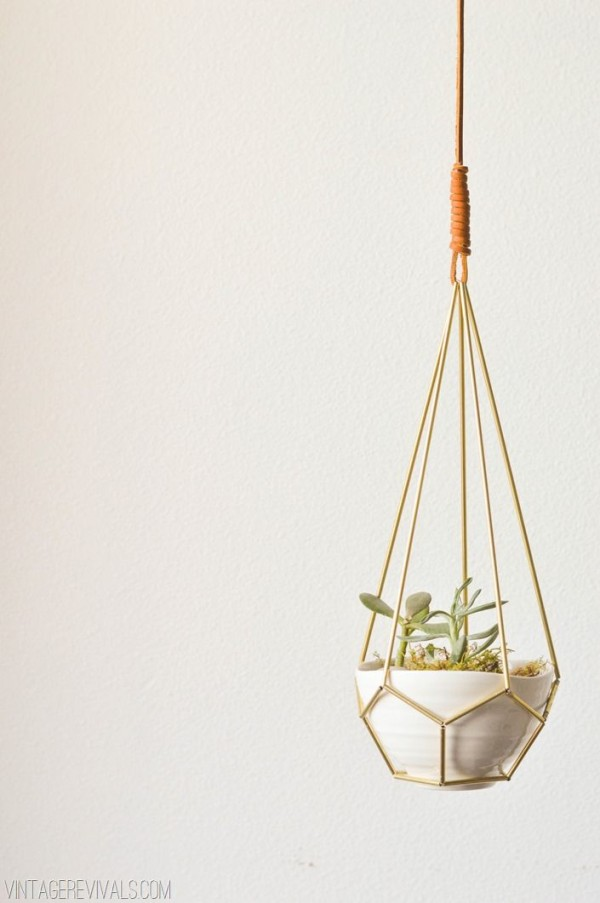 Hanging Planter by Vintage Revivals