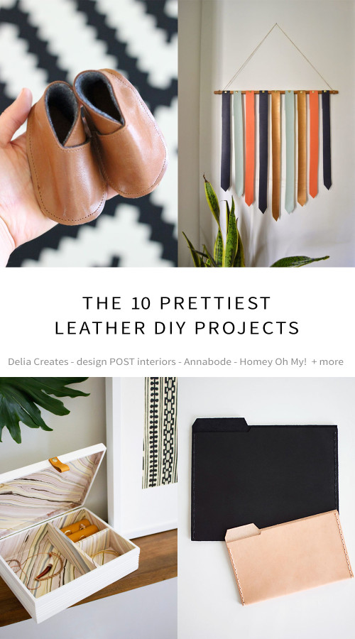 Leather DIY Project Ideas from Annabode