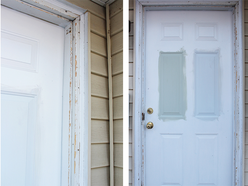 how to replace exterior door trim