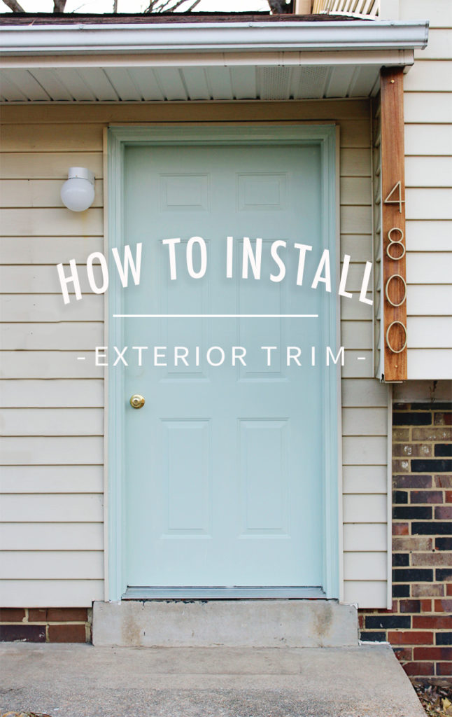 How To Install Exterior Trim Annabode Co