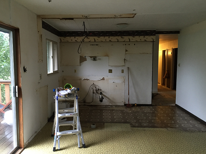 How to Demo a Kitchen for Free