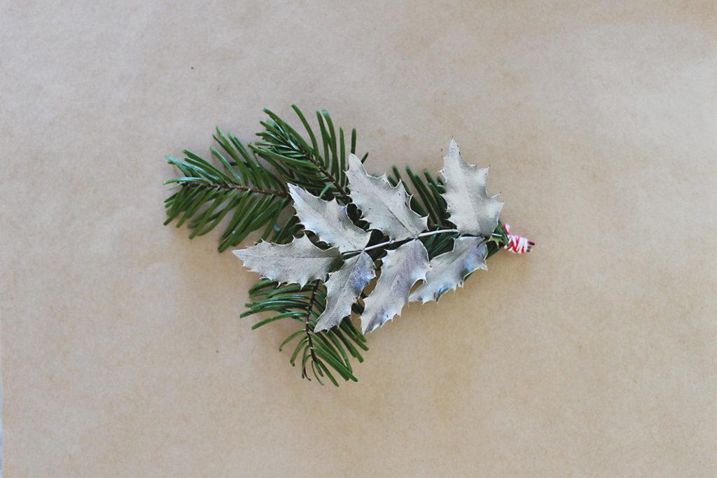 DIY Modern Christmas Gift Wrap