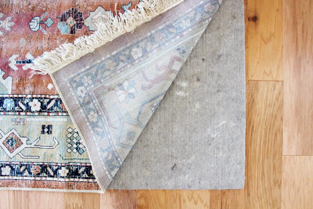 eco-friendly rug pad