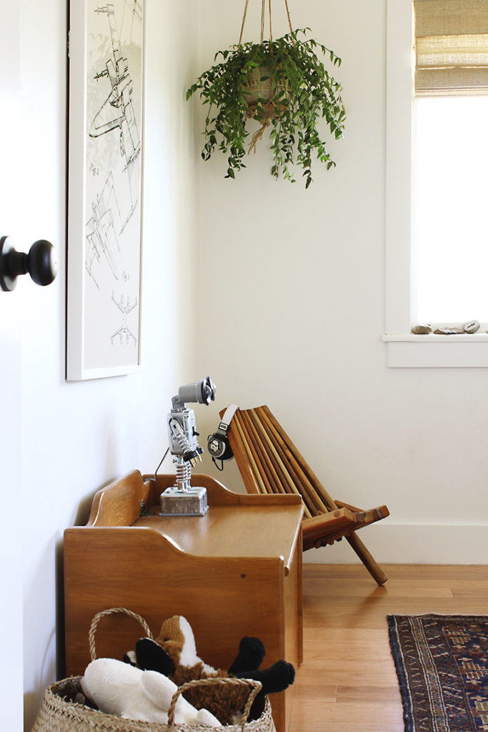 A Modern Little Boy's Room