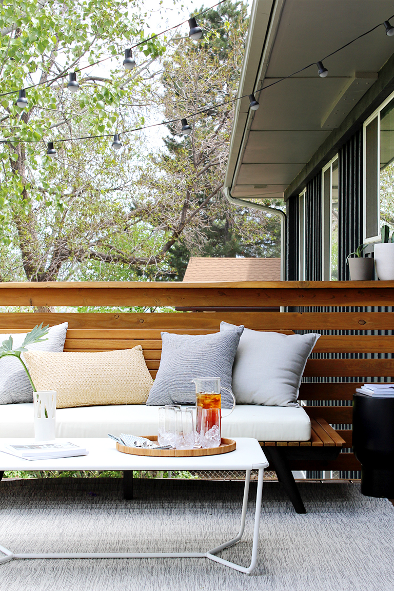 outdoor spaces on a budget