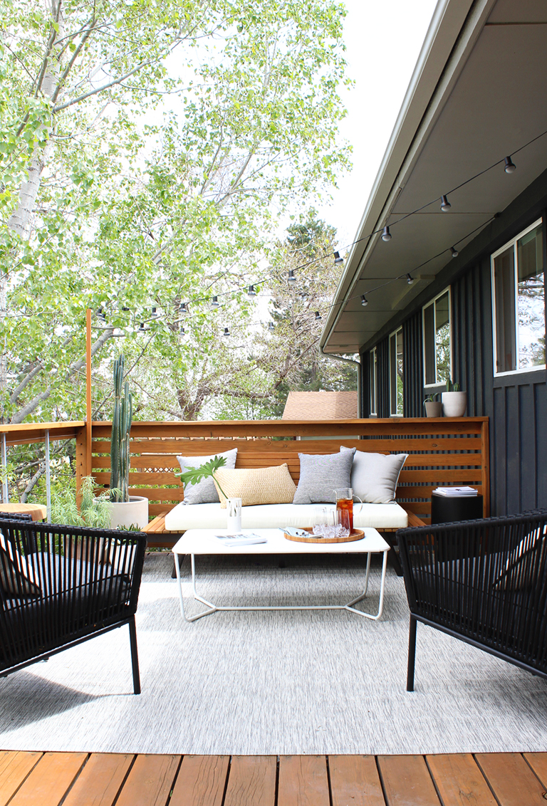 In Case You Missed It Yesterday We Revealed Our Diy Deck Makeover Using Feeney Cable Rail And Today I M Sharing All The Details On Modern Outdoor Decor