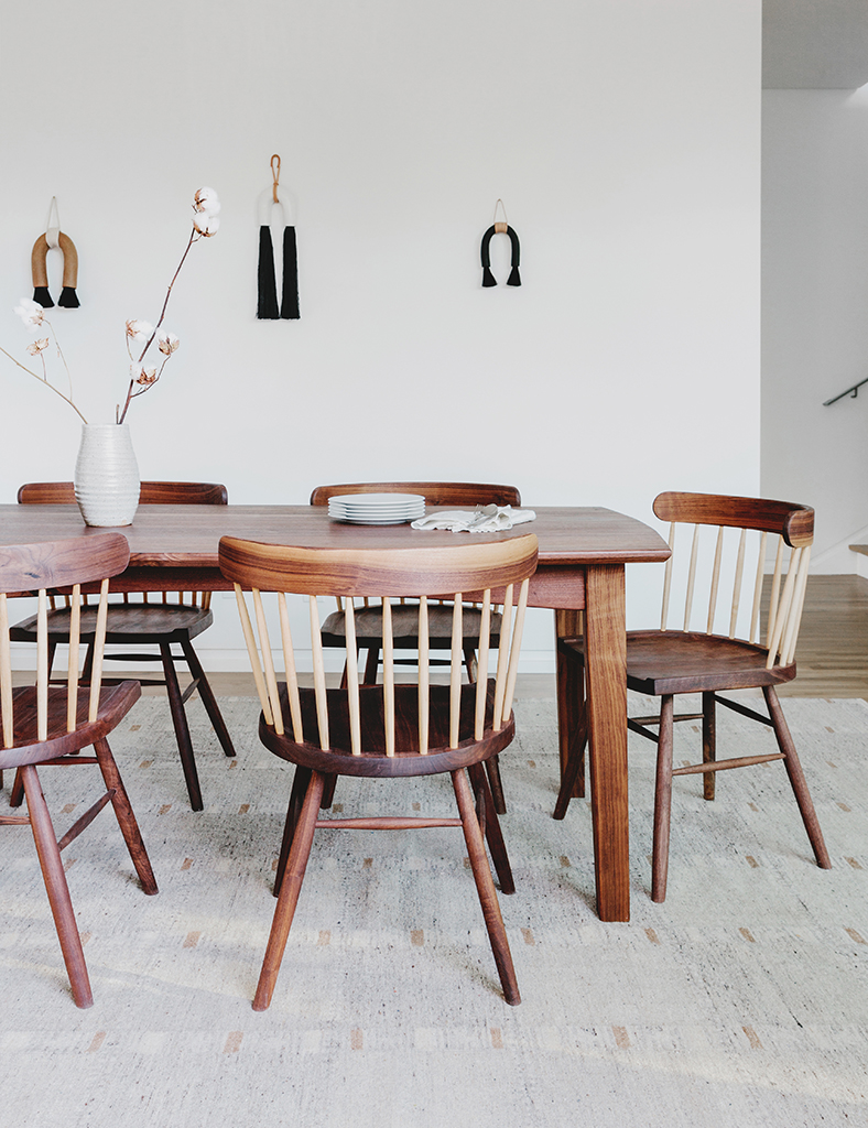 A Modern Colorado Dining Room with Denver Makers