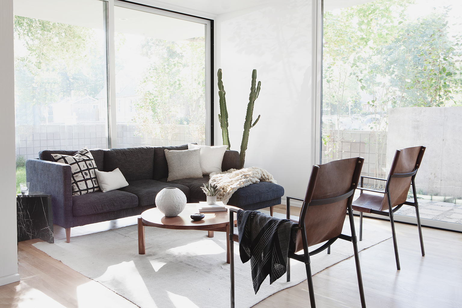 A Modern Colorado Living Room with Denver Makers