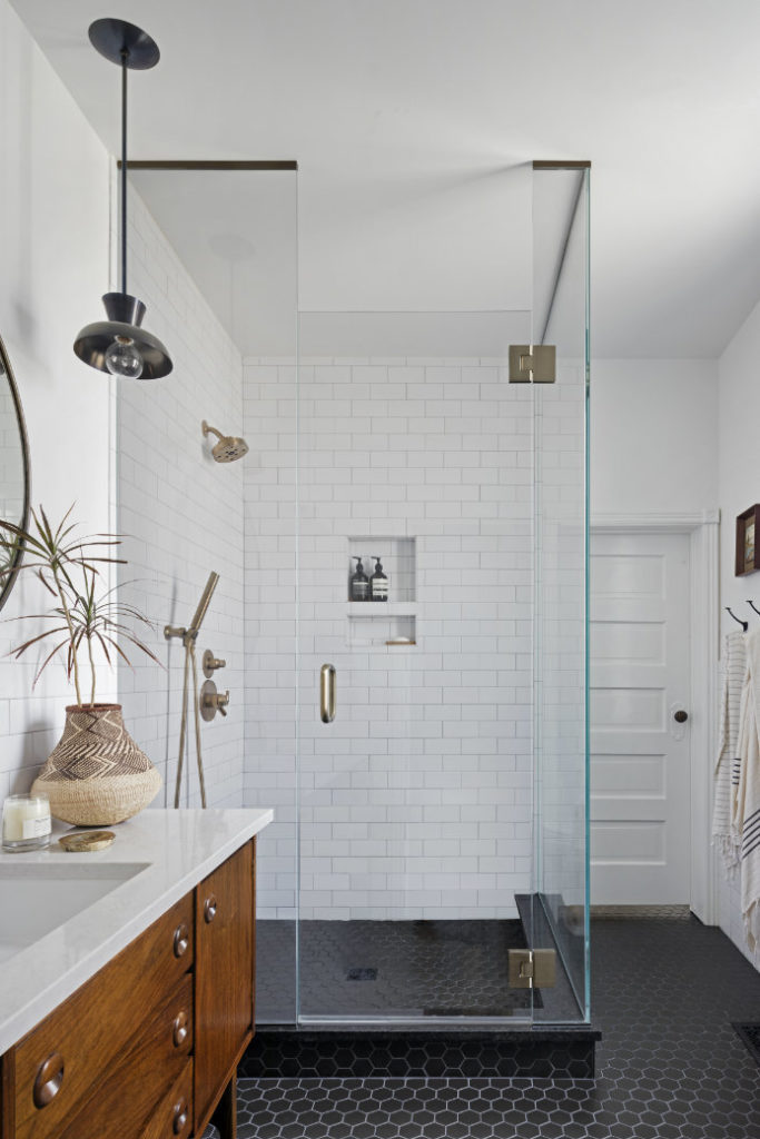 Annabode Interior Design Glass Shower Door Tile