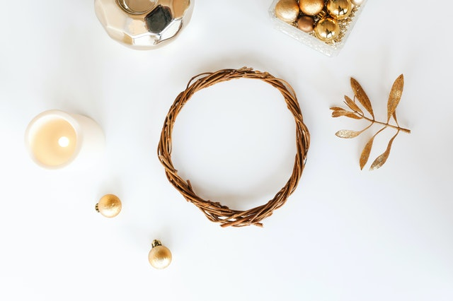 Sustainable Holiday Decor Wreath